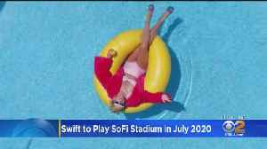 Taylor Swift To Christen SoFi Stadium Next Summer [Video]