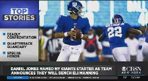 Giants Bench Eli Manning; Jets Backup QB Out For The Season [Video]