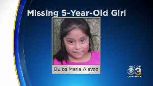 Search For Missing 5-Year-Old Girl In South Jersey Continues, Police Say [Video]
