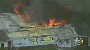 Fire Crews Battle Massive Blaze At Produce Company At Deerfield Township [Video]