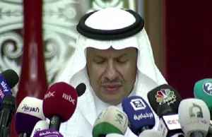Saudi oil production back on line -energy minister [Video]