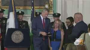 Late NYPD Det. Luis Alvarez's Family Receives Key To The City [Video]