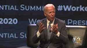 Bernie Sanders, Joe Biden Working To Earn Votes Of Philadelphia Labor Union Members [Video]
