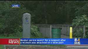 Police Search For Suspect After Woman Attacked On Bike Path [Video]