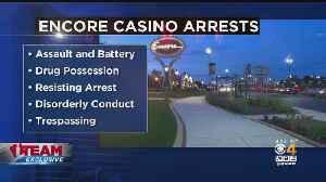 I-Team: 9 Arrested At Encore Boston Harbor Casino [Video]