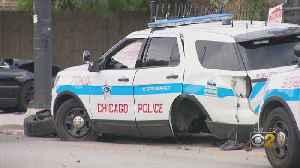 3 Injured In West Side Squad Car Crash [Video]