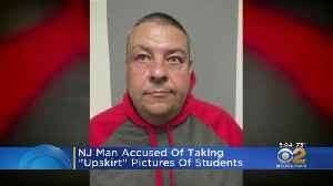 NJ Man Accused Of Taking Upskirt Pictures Of Students [Video]