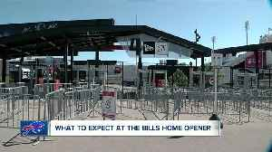 Buffalo Bills home opener: what fans can expect [Video]