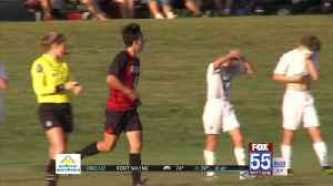 High School Boys Soccer: Manchester Edges Oak Hill [Video]