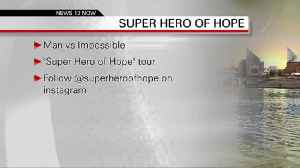 Man vs. Impossible Super Hero of Hope tour  9-17-2019 [Video]