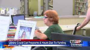 Athens-Limestone County Public Library looking at cutting back hours, programs after loosing some fu [Video]