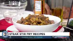 Angie Horkan shares steak stir fry recipes [Video]