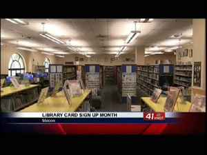 Middle Georgia Regional Library celebrates Library Card Sign-up Month [Video]