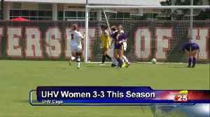 UHV Women's Soccer Coming Off Big Win [Video]