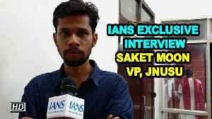 Exclusive Interview with JNUSU Vice President Saket Moon [Video]