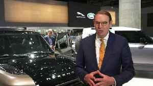 Jaguar Land Rover at 2019 IAA - Hanno Kirner, Executive Director, Corporate & Strategy, Jaguar Land Rover [Video]