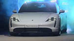 Porsche presents the new Taycan at the IAA in Frankfurt [Video]