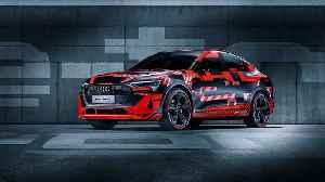 Audi e-tron Sportback Premiere at 2019 IAA [Video]