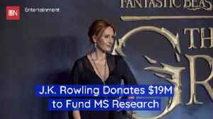 JK Rowling Helps MS Research [Video]