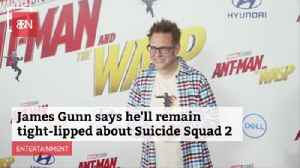 James Gunn Wont Share Info On New 'Suicide Squad' Yet [Video]