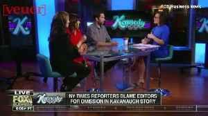 Fox Business Host Dismisses Brett Kavanaugh Allegations, Calling It a 'Ding Dong' Phase [Video]