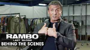 Rambo 5 Last Blood - Behind the scenes - Vengeance – Sylvester Stallone [Video]