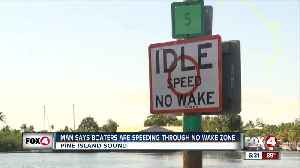 Man says boaters speed through no wake zones [Video]