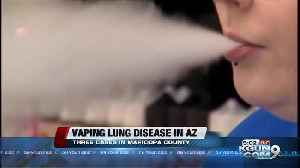 Arizona reports cases of vaping-related respiratory illness [Video]