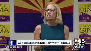 AZ Dems to Sinema: Support the platform or face party censure [Video]