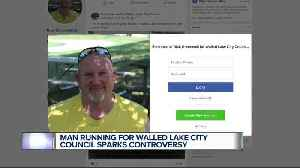 Man with past allegation of sexual assault running for Walled Lake City Council sparks controversy [Video]