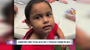 Grandmother to reunite with toddler found in box [Video]