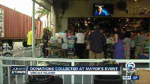Donations collected at Mayor's event on Singer Island [Video]