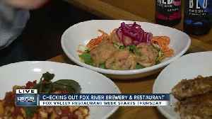 Restaurant Week at Fox River Brewing Company [Video]