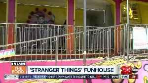 'Stranger Things' Funhouse at Kern County Fair [Video]
