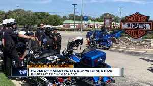 House of Harley hosts SAP Veterans Ride [Video]