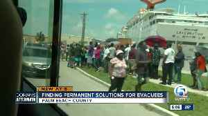 Palm Beach County focusing on long term solutions for Dorian evacuees [Video]
