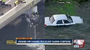 Second car plunges off Howard Frankland Bridge in 3 weeks [Video]