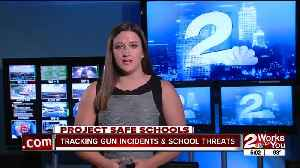 Tracking gun incidents and school threats [Video]