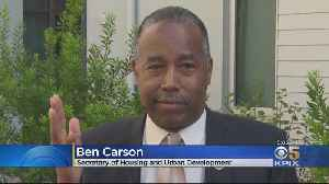 HUD Secretary Carson Tours SF Housing Development Following Administration Report On Homelessness [Video]