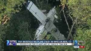 FAA investigating plane crash in Anne Arundel County [Video]