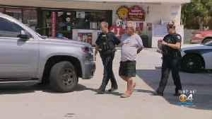 Police Arrest Suspect DUI Driver Who Plowed Pickup Through Fort Lauderdale Gas Station Storefront [Video]