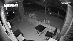 Intense Doorbell Camera Footage Captures Sound of Dogs Attacking Man in Utah Neighborhood [Video]
