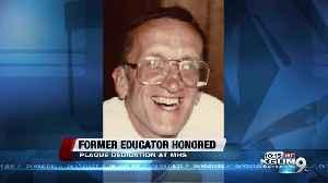 Marana High School pays tribute to former educator [Video]