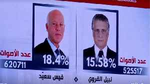 Tunisia: Saied, Karoui advance to runoff after topping polls