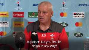 Warren Gatland: Rob Howley devastated by allegations he breached betting rules [Video]