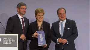 Scotland's Nicola Sturgeon gets award for being 'voice of reason' on Brexit [Video]