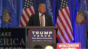 Trump Has Battle In Wisconsin [Video]