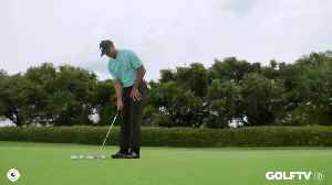 Tiger Woods' Two Tee Putting Drill [Video]