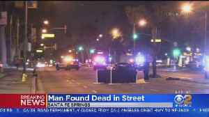 Man Found Dead In Middle Of Telegraph Road In Santa Fe Springs [Video]