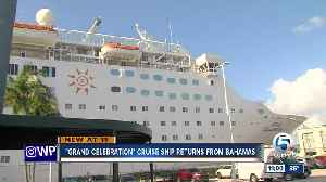 Grand Celebration cruise ship returns after Bahamas humanitarian mission [Video]